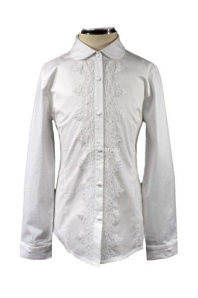 Блузка с кружевом Vitacci 2153015-01 белый Vitacci