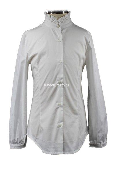 Приталенная блузка Vitacci 2153003-01 белый Vitacci