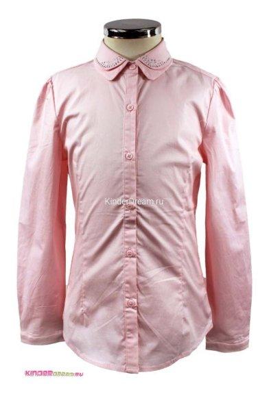 Блузка с двойным воротником Vitacci 2153005-11 розовый Vitacci