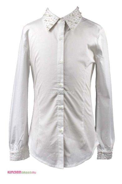 Блузка, украшенная бусинами Vitacci 2153002-01 белый Vitacci