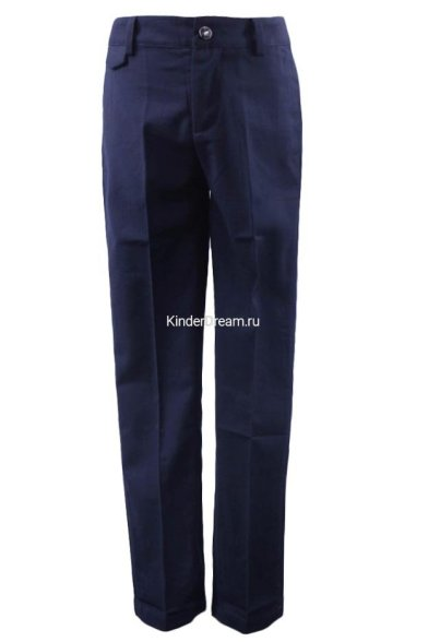 Классические синие брюки Vitacci 2153078-04 синий  Vitacci