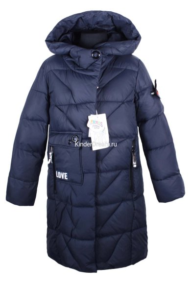 Стёганное пальто PurosPoro 17-811-04 PurosPoro