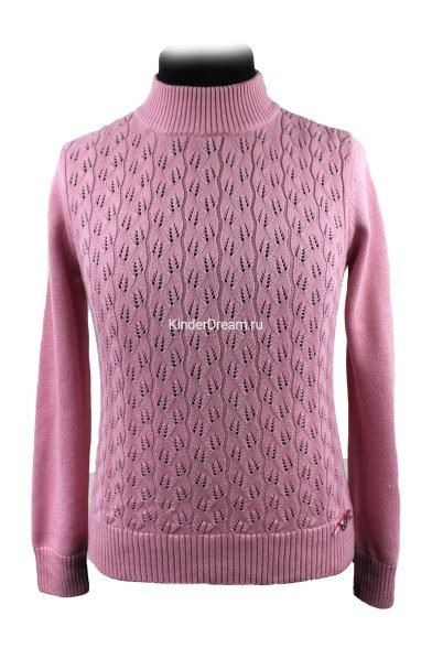 Ажурный джемпер Deloras 60653 розовый Deloras