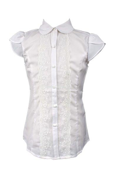 Блузка из лёгкой ткани Vitacci 2153023-01 белый Vitacci