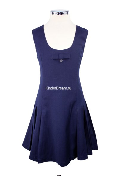 Приталенный сарафан Vitacci 2153054-04 синий Vitacci