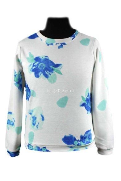 "Свитшот ""цветы"" Vitacci 2151283-01 белый Vitacci"