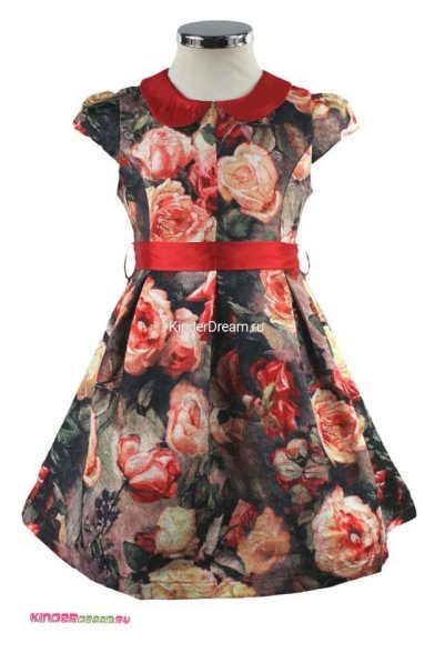 "Платье ""розовый сад"" Vitacci 2151386-05 мультиколор Vitacci"