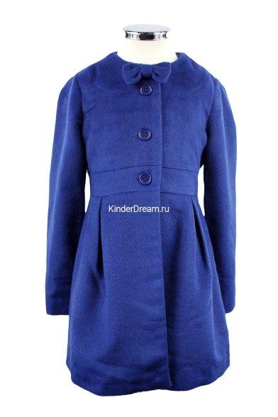 Кашемировое пальто Deloras 16825F синий Deloras
