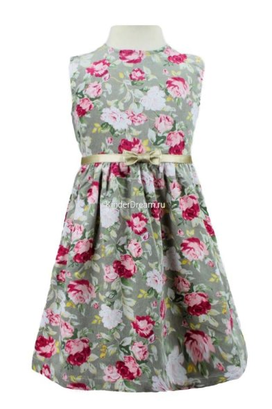Платье - сарафан Deloras 16731 серый Deloras