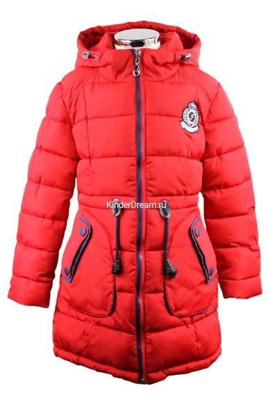 Оригинальное зимнее пальто Vitacci 2151503-05 красный Vitacci
