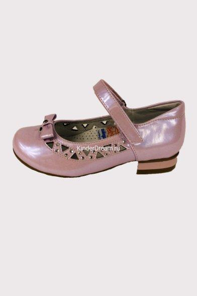 Туфли, украшенные бантиком Kapika